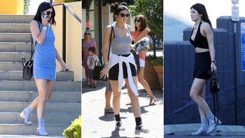 ee5fac979 cangrejeras. Kylie Jenner se ha convertido en una verdadera defensora de  este calzado que