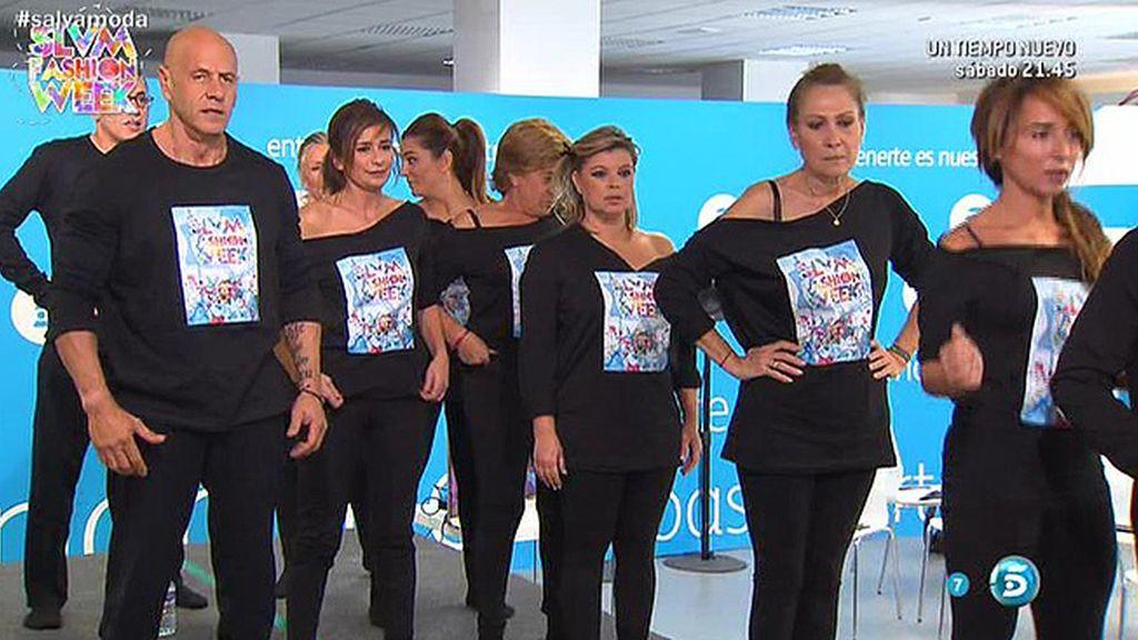 Raquel Revuelta les enseña a convertirse en modelos