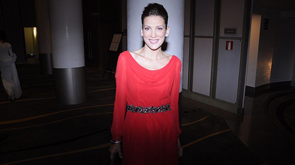 """Remedios Cervantes se declaró una gran defensora de la moda """"Made in Spain"""" y por eso eligió un modelo de Laura Bernal para los premios Mujer Hoy"""