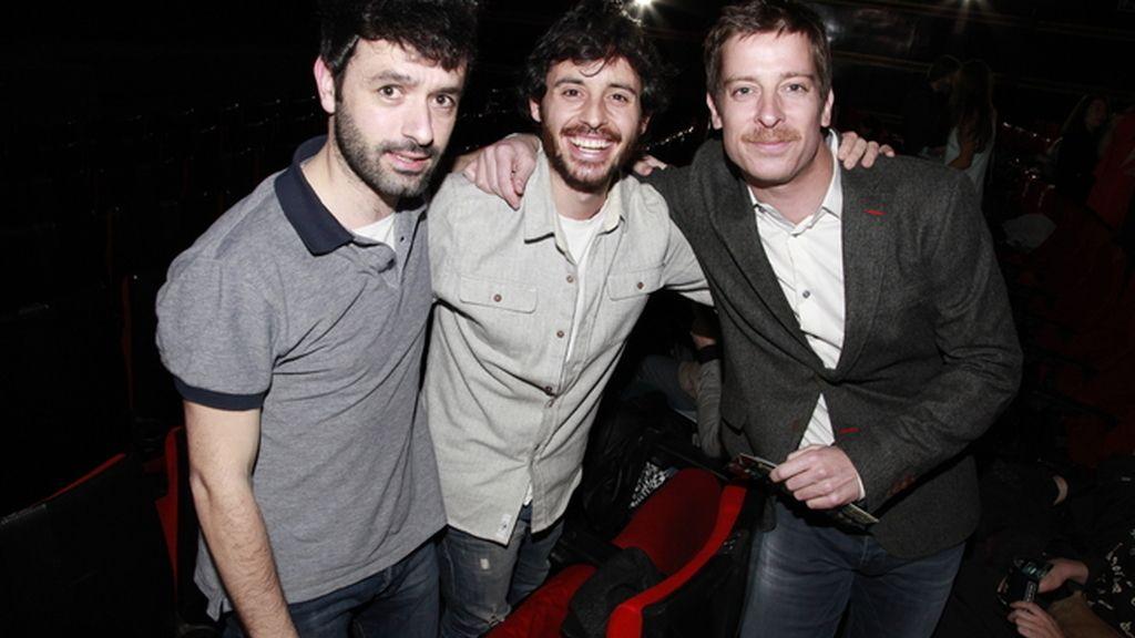Rodrigo Sorogoyen, Javier Pereira y Manu Baqueiro