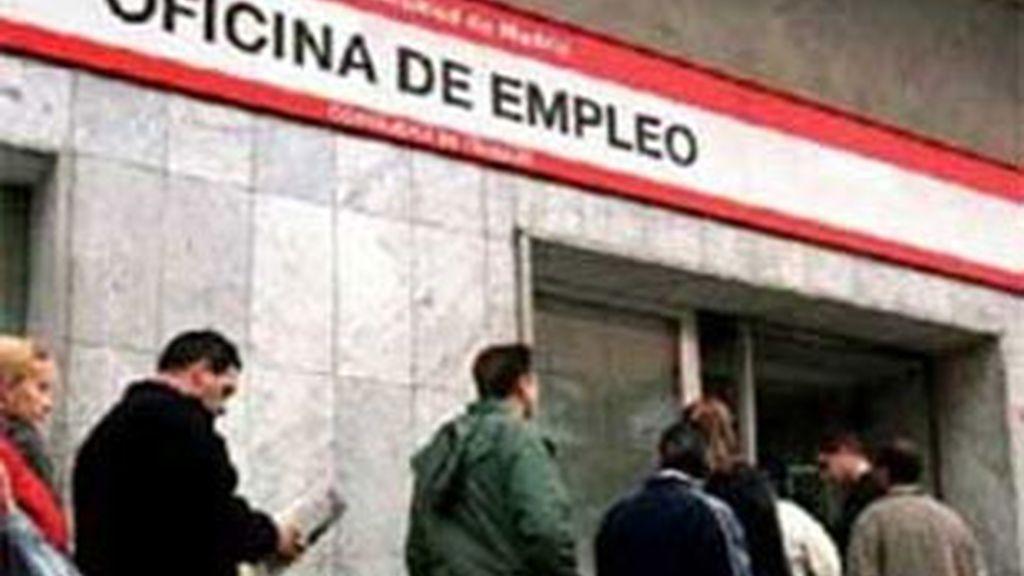 España tiene un 20,8% de paro en la actualidad, el doble que la media comunitaria. Foto: EFE.