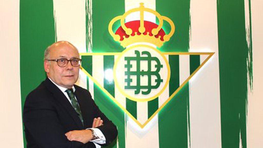 Juan Carlos Ollero, nuevo presidente del Real Betis
