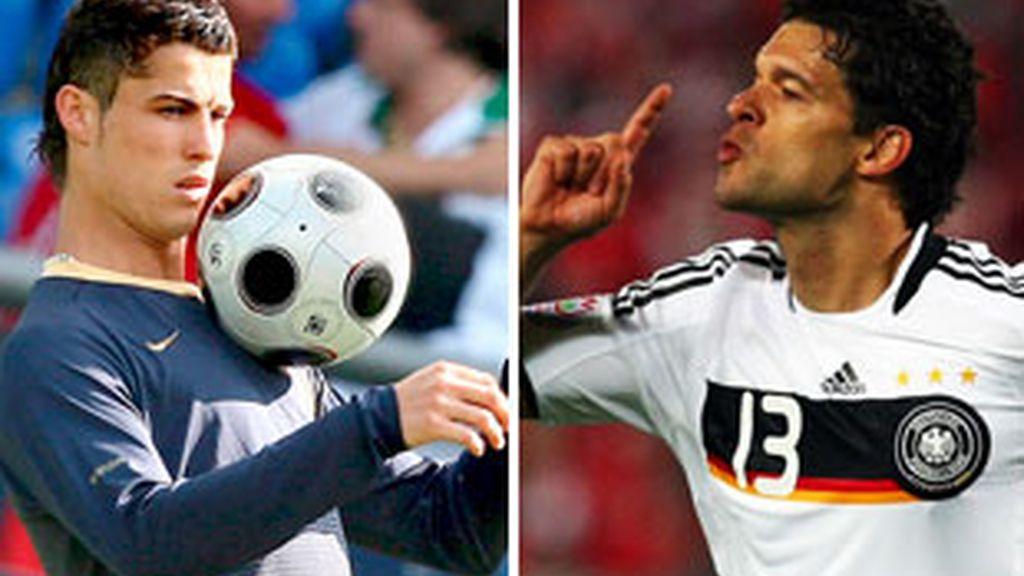 Cristiano Ronaldo vs Ballack. Vídeo: ATLAS