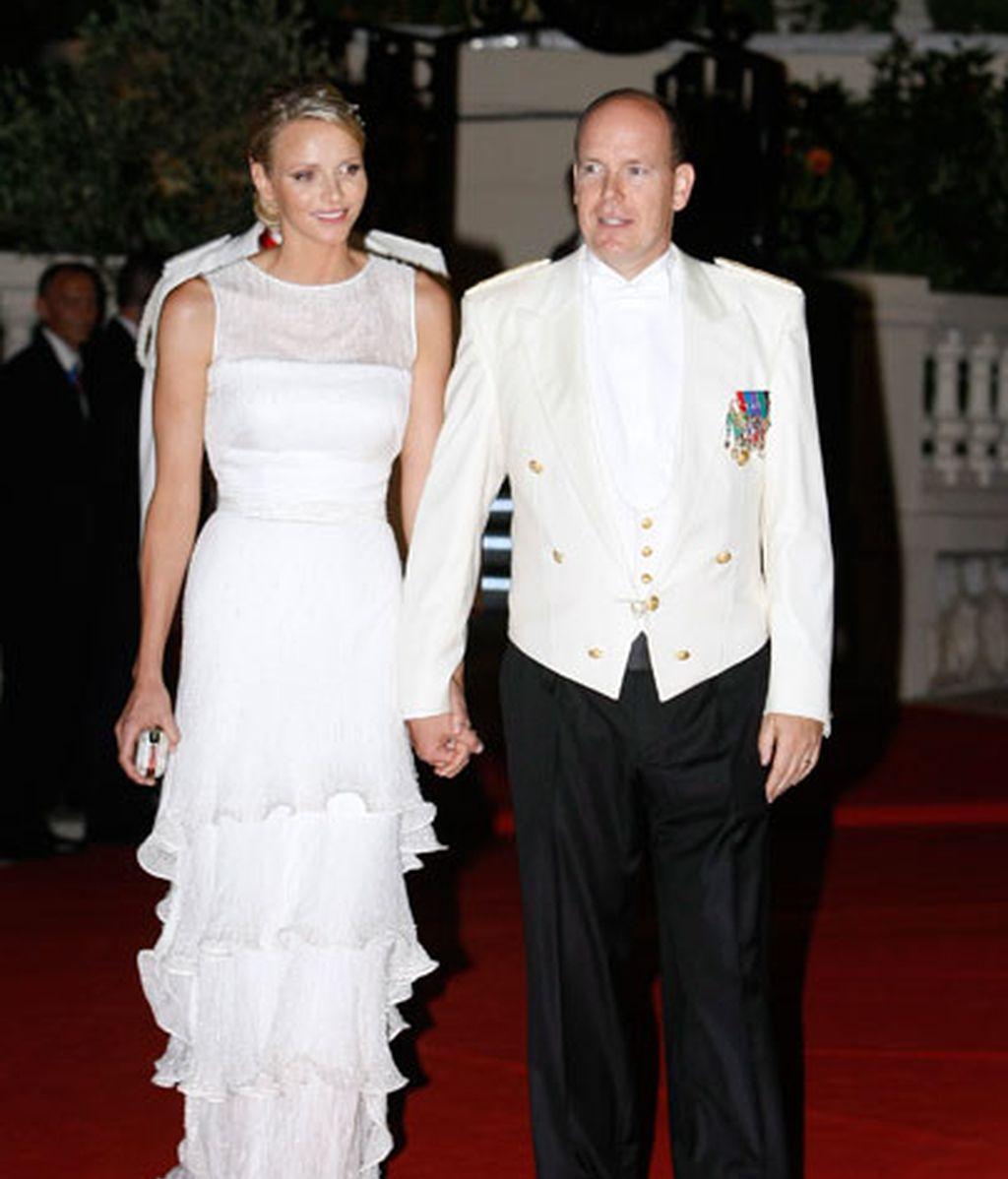 Alberto II de Mónaco y Charlene Wittstock