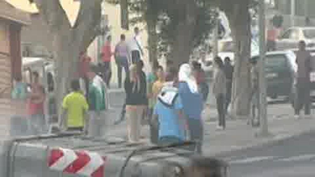 Disturbios en Melilla