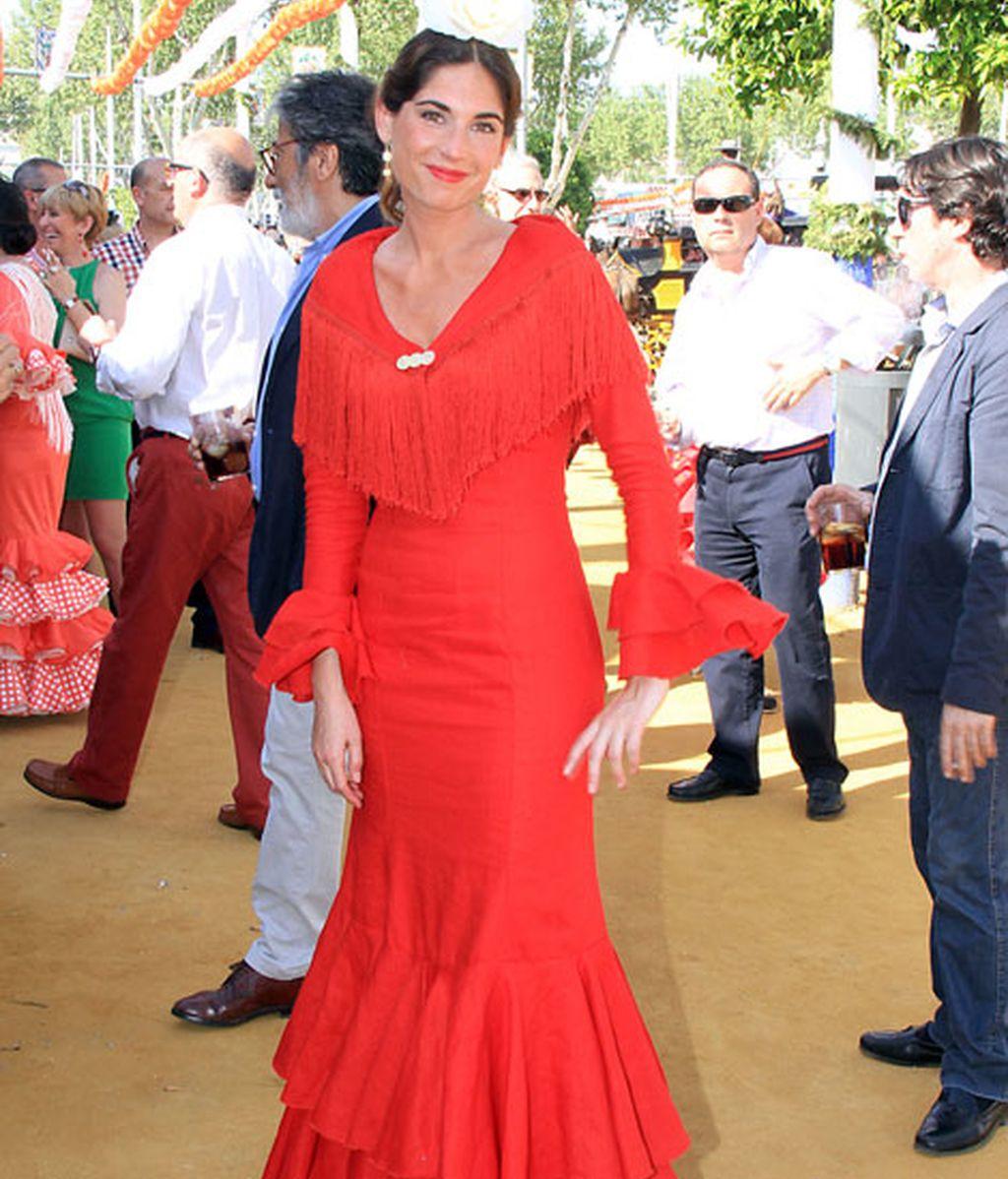 Lourdes Montes, espectacular sin Francisco Rivera