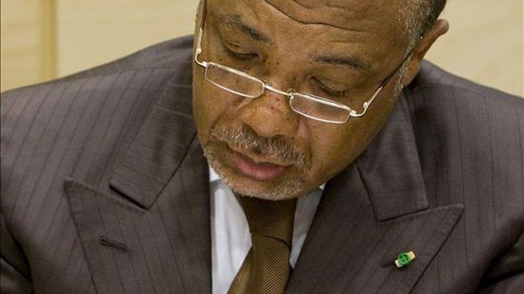 El ex presidente liberiano Charles Taylor. EFE/Archivo