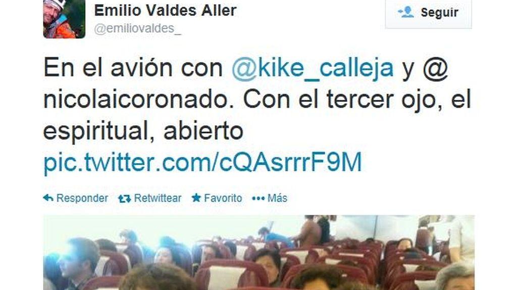 Twitter de Emilio Valdés
