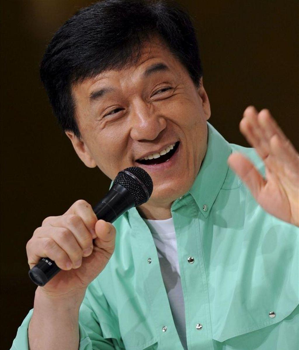 El actor natural de Hong Kond Jackie Chan. EFE/Archivo