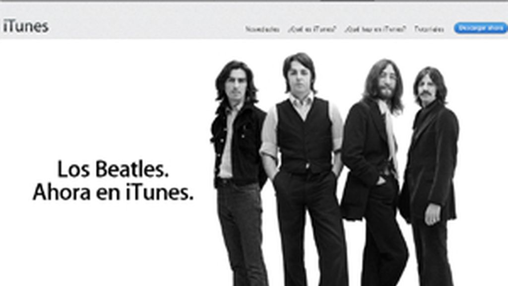 Los Beatles en digital