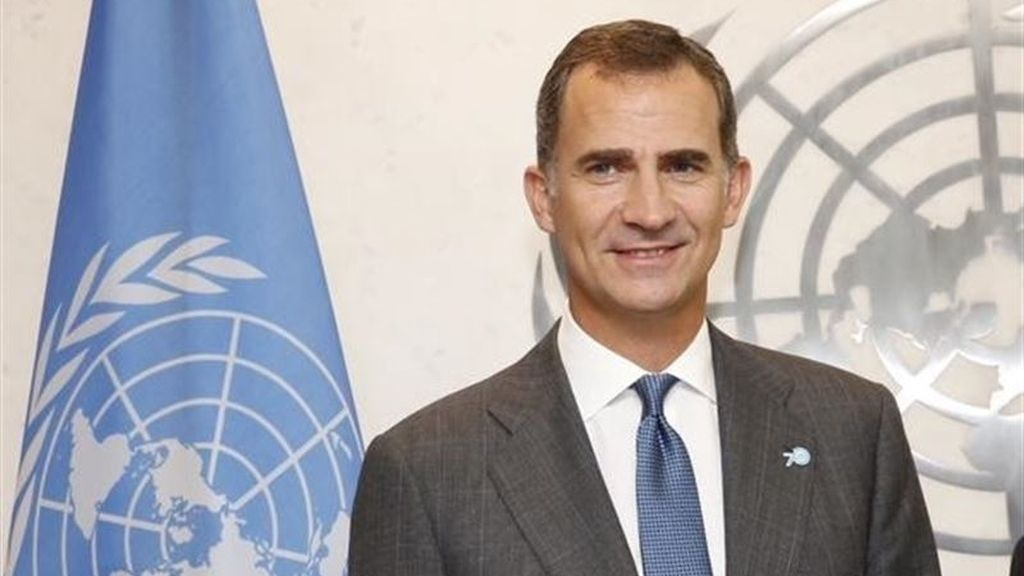 """El Rey pide en la ONU """"actuar como un solo mundo"""" para acabar con la pobreza y las desigualdades"""