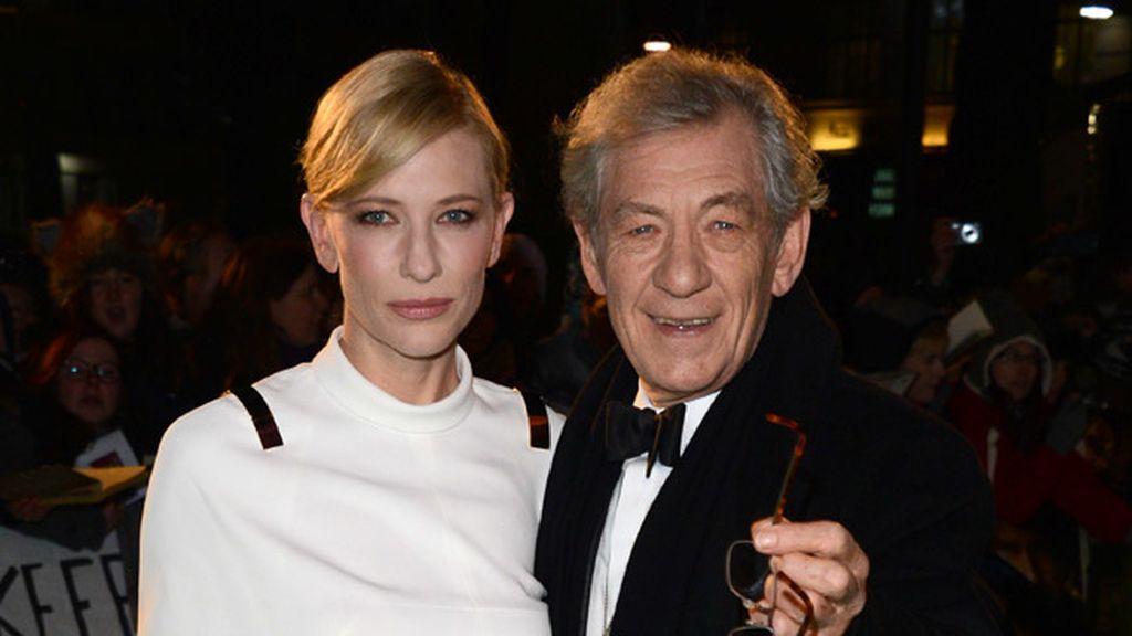 Cate Blanchett y Ian McKellan