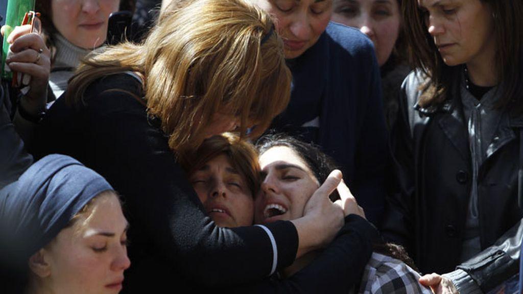 Último adiós a las víctimas de Toulouse