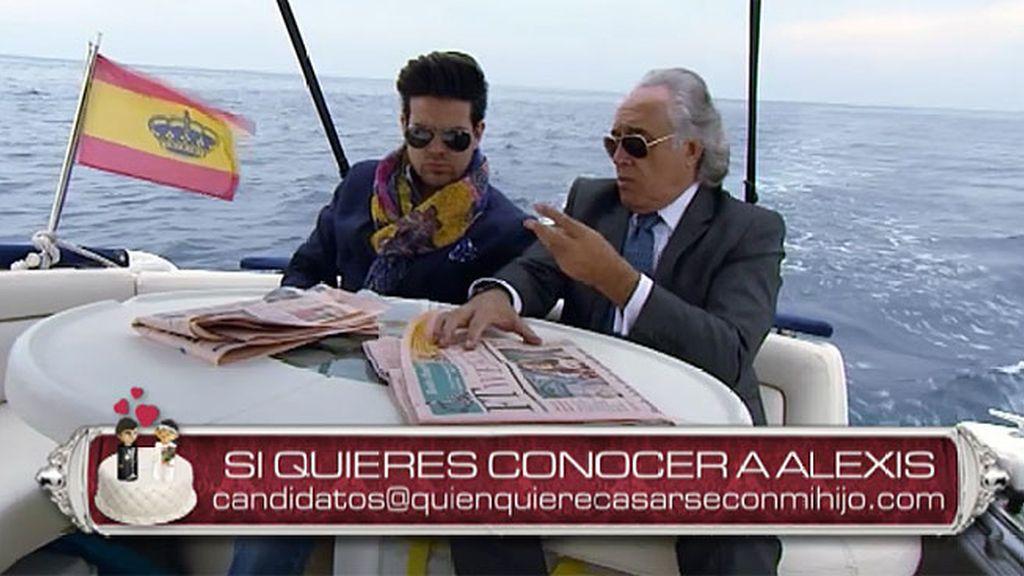 Armando y Alexis, dos hombres de negocios que buscan la mujer perfecta