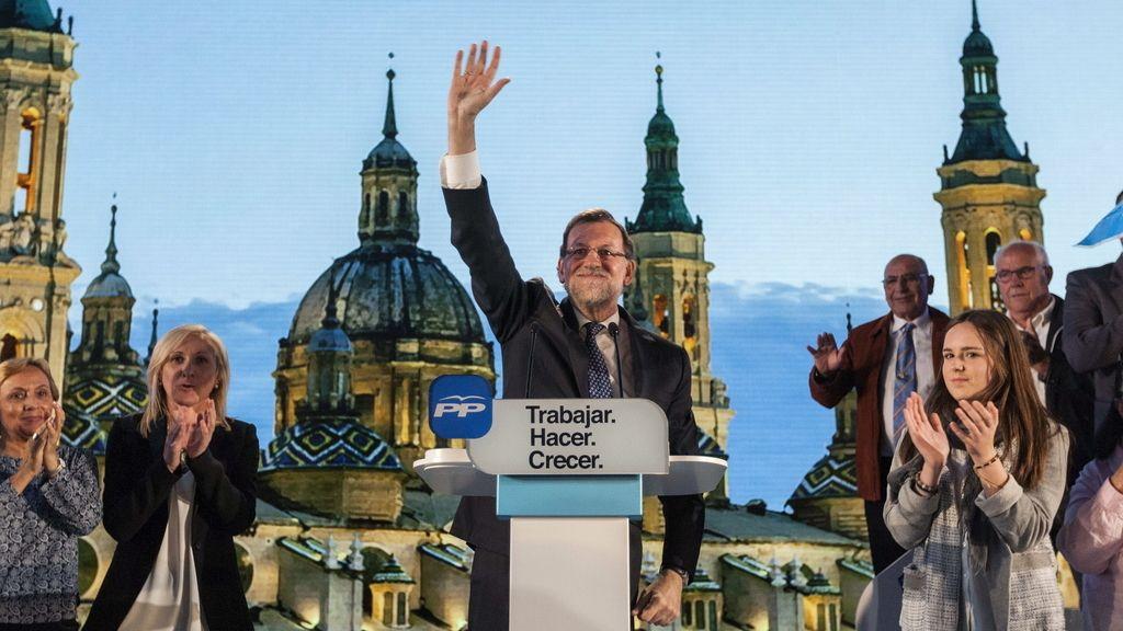 Mitin de Rajoy en Zaragoza
