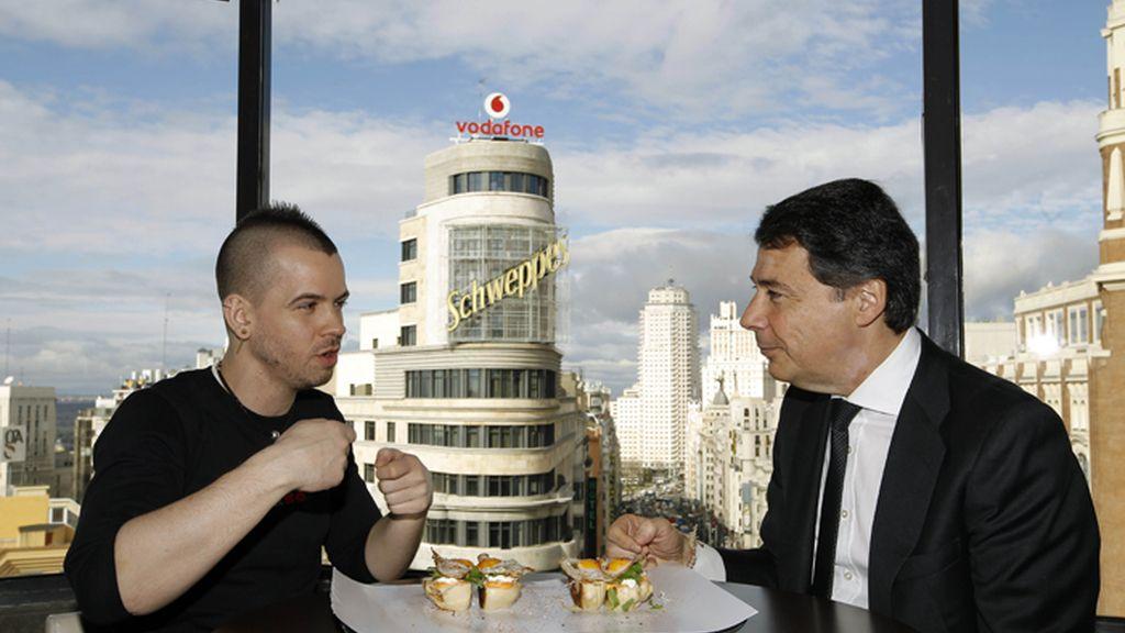 La Comunidad de Madrid nombra a David Muñoz embajador \