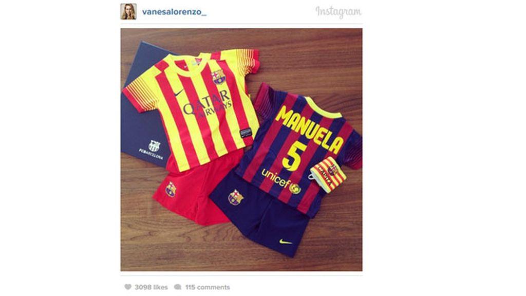 Manuela ya tiene la equipación completa del FC Barcelona