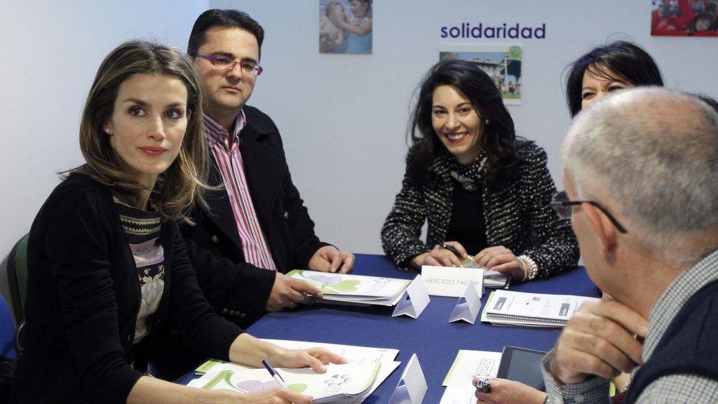 Doña Letizia en la Federación de Enfermedades raras