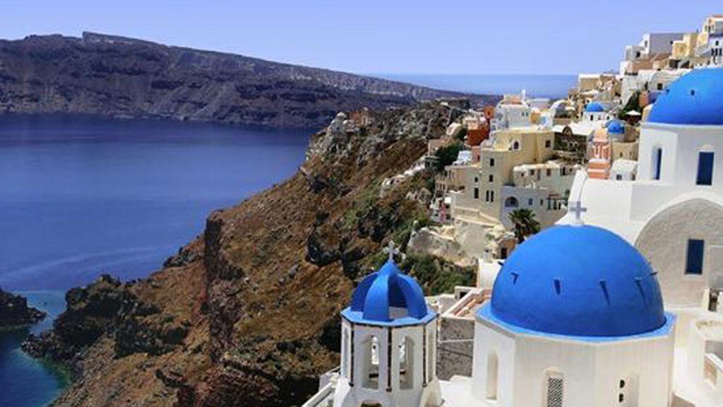Santorini, archipiélago del Mar Egeo