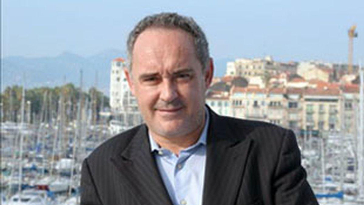 El cocinero Ferran Adriá, una de las grandes atracciones del congreso. Foto: EFE