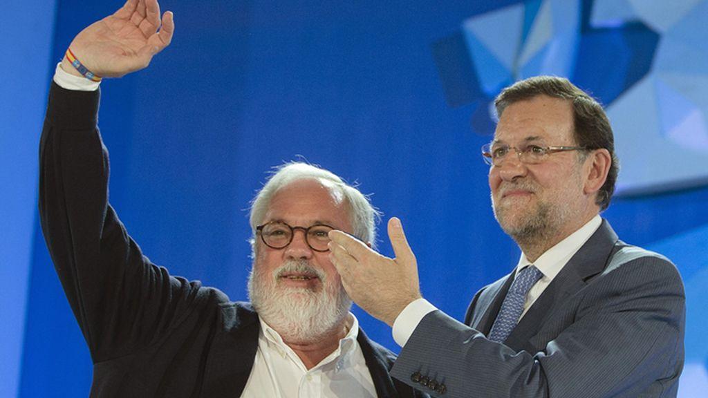 Mitin de Rajoy y Cañete en Málaga