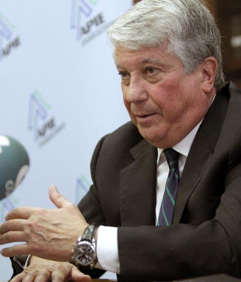 El vicepresidente primero de la CEOE y presidente de la patronal madrileña CEIM, Arturo Fernández