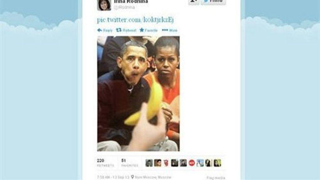 "EEUU denuncia la ""intolerancia"" de una diputada rusa que colgó una foto retocada de Obama"