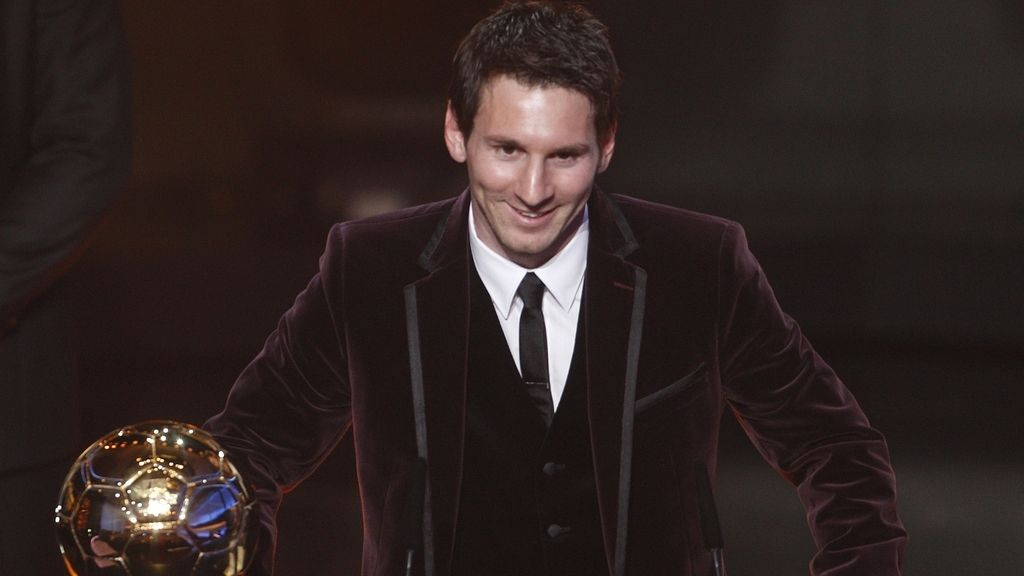 Leo Messi, Balon de Oro 2011