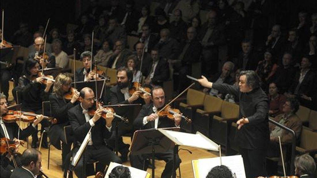 """La """"Accademia Nazionale di Santa Cecilia"""" de Roma interpreta el famoso """"Réquiem"""" de Verdi con el maestro Antonio Pappano al frente. EFE/Archivo"""