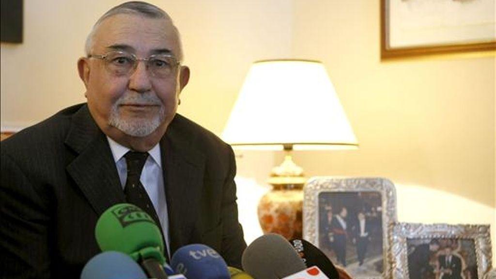 El ex ministro de Justicia y presidente de la Cámara de Representantes marroquí , Abdeluahed Radi. EFE/Archivo
