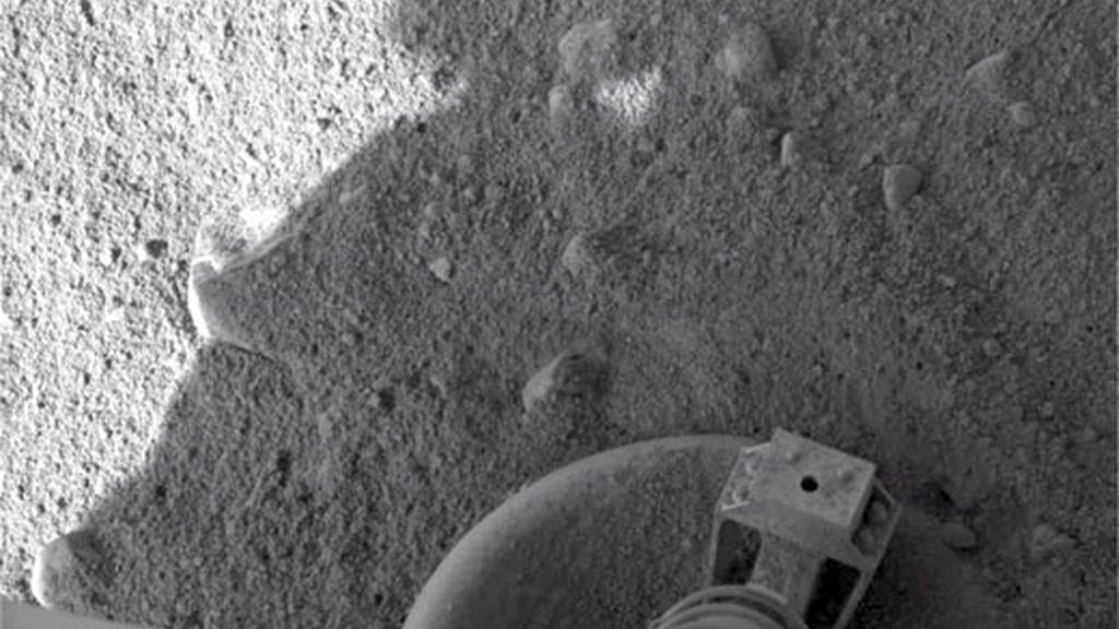 Primeras imágenes del polo norte de Marte. Video: Informativos Telecinco.com