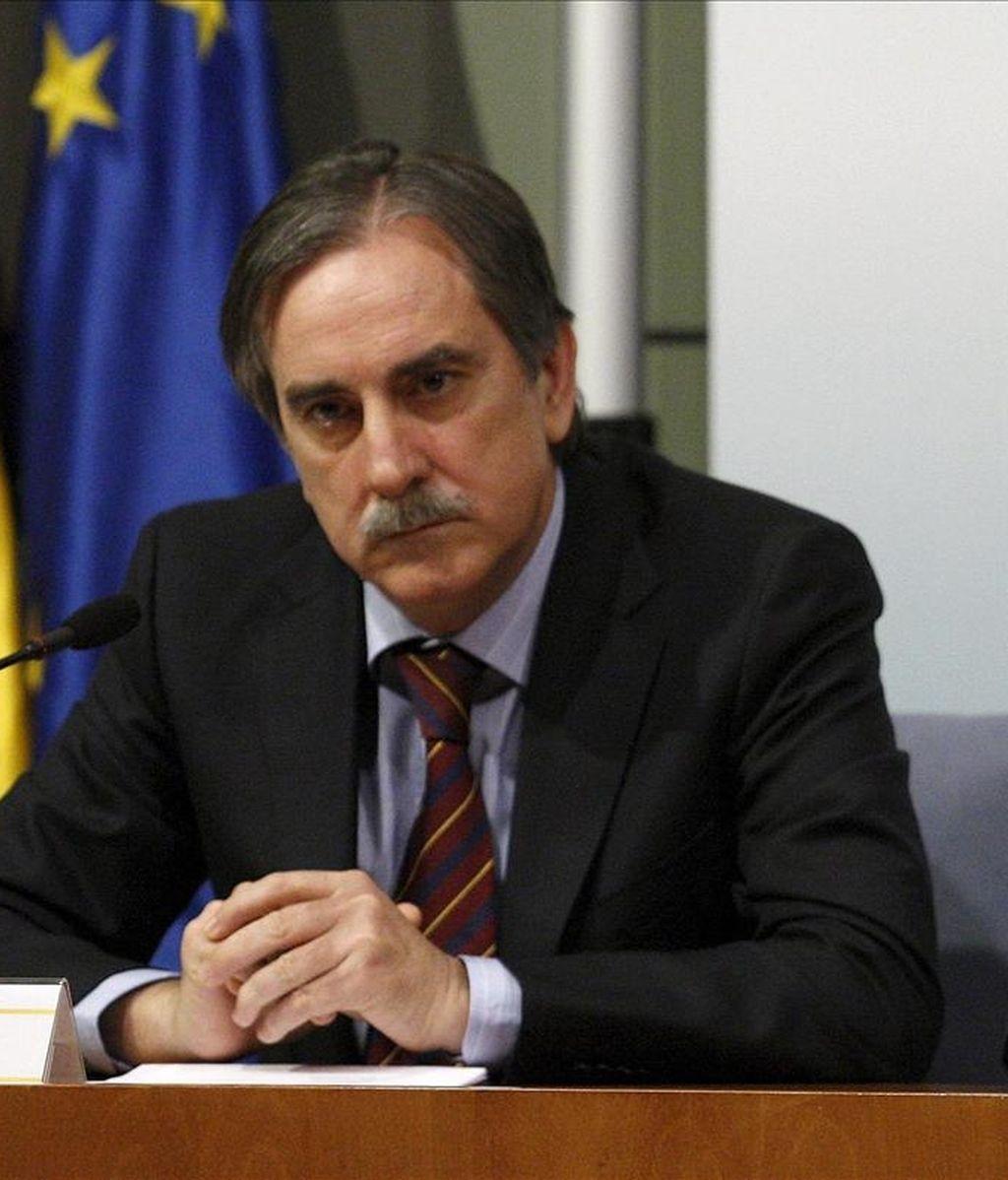 El ministro de Trabajo e Inmigración, Valeriano Gómez. EFE/Archivo