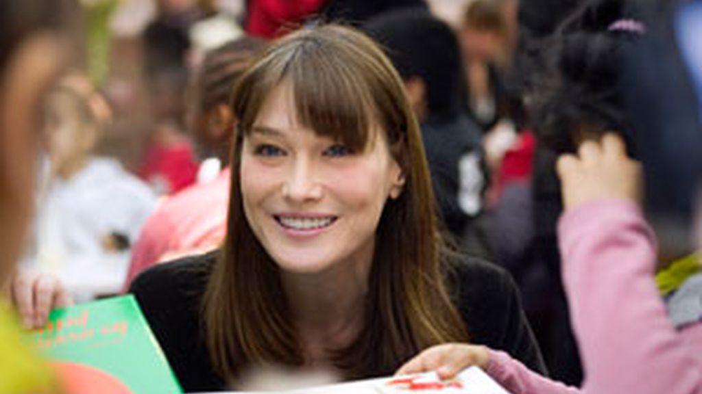 Carla Bruni ni ha confirmado ni desmentido si espera un bebé. Foto: Gtres