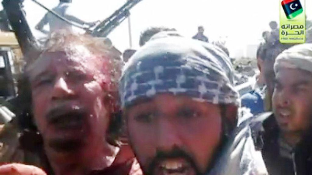 Capturado en Sirte