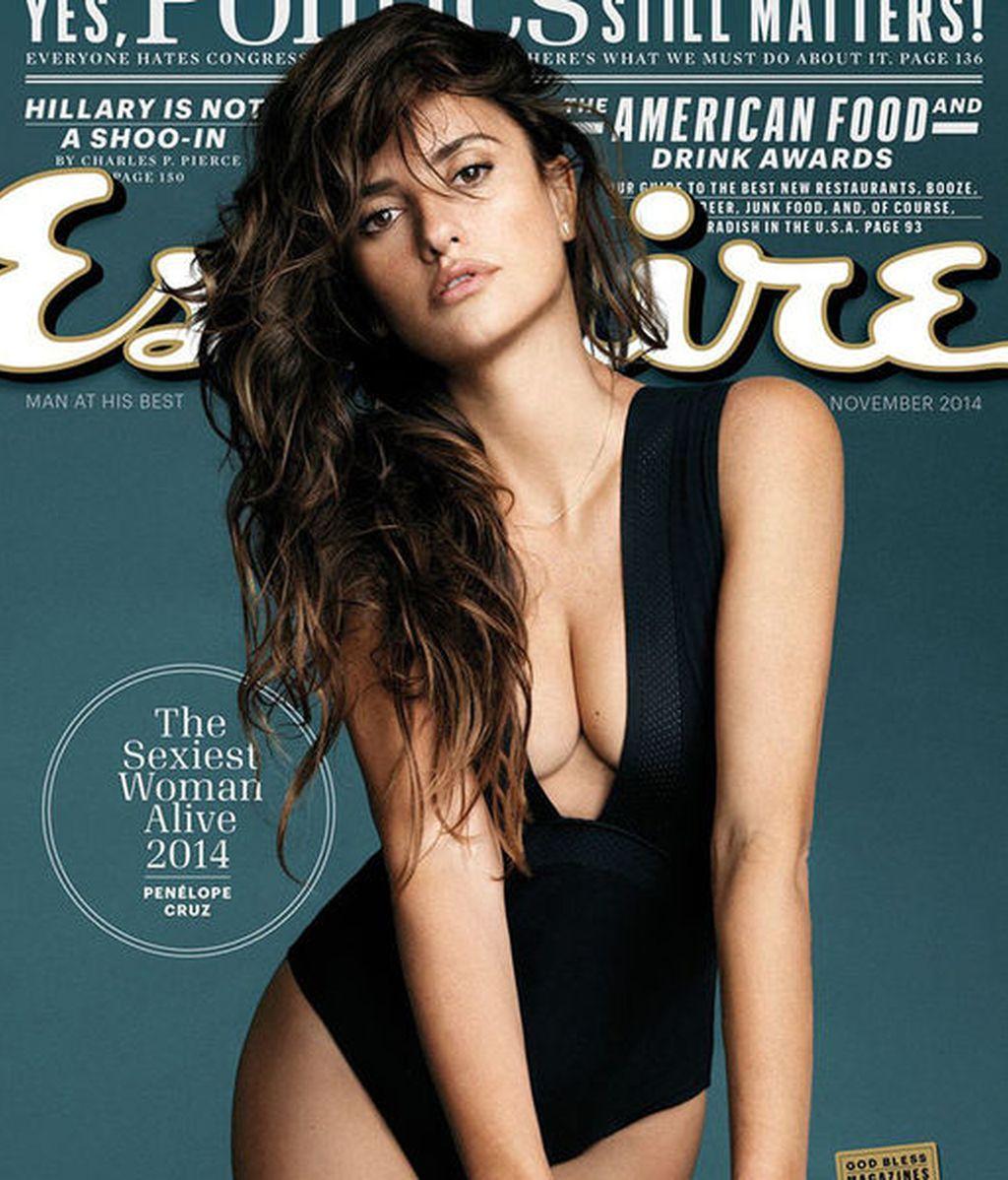 Penélope Cruz, la mujer viva más sexy, según 'Esquire'