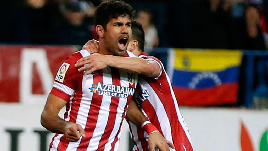 Diego Costa da la victoria al Atlético de Madrid