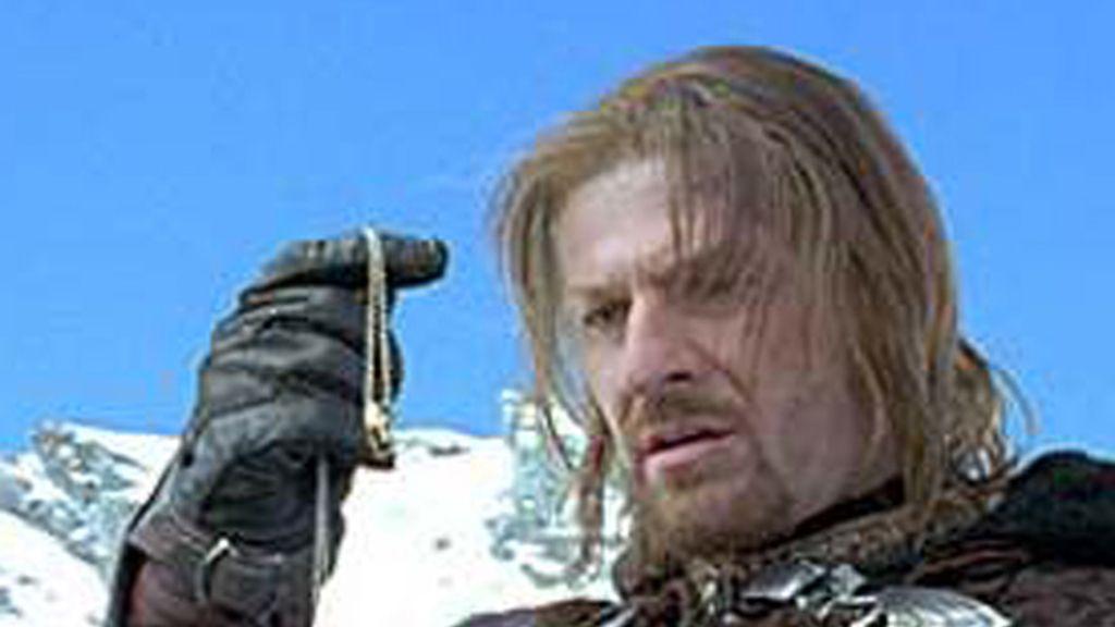 El actor Sean Bean, en el personaje de Boromir, de la saga 'El Señor de los anillos'.