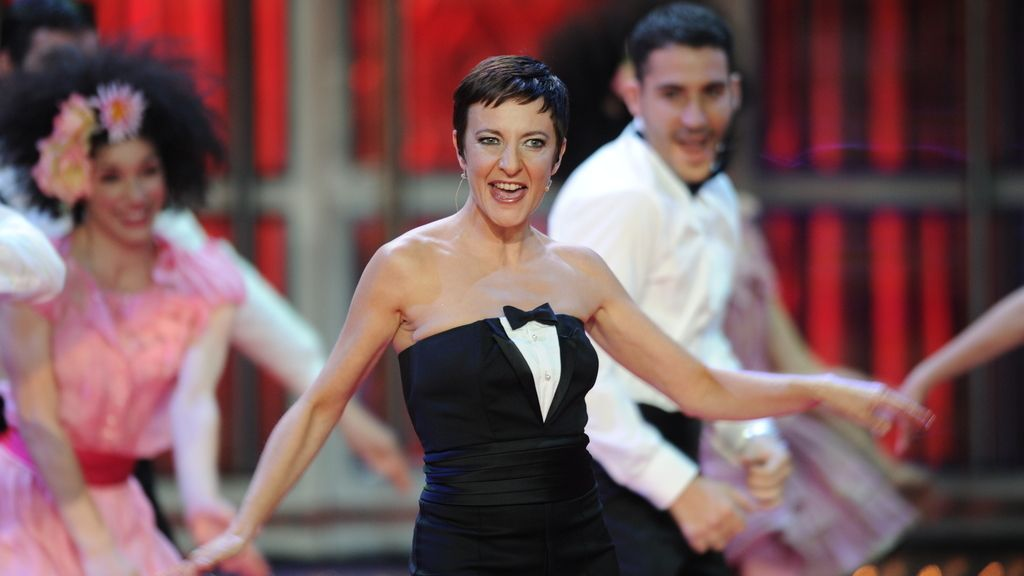 Eva Hache en un momento de la gala de los Goya 2012