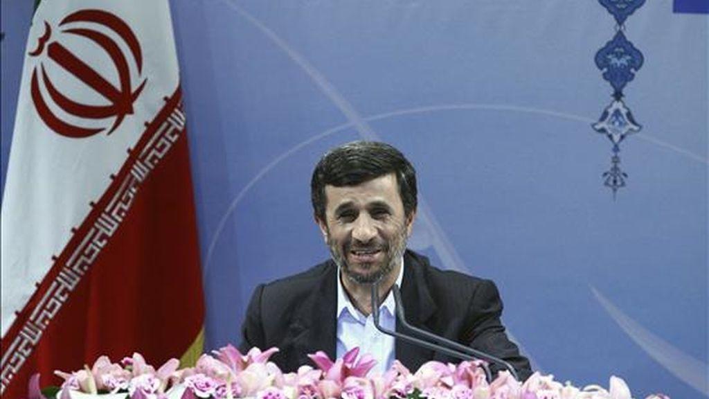 El presidente iraní, Mahmud Ahmadineyad. EFE/Archivo