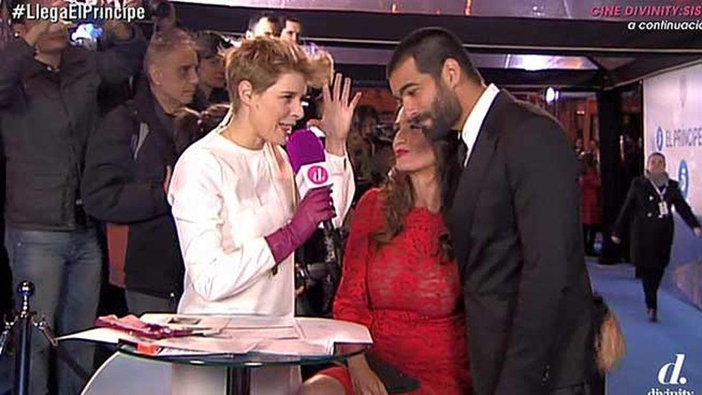Elia Galera (Raquel) y Rubén Cortada (Faruq Ben Barek)