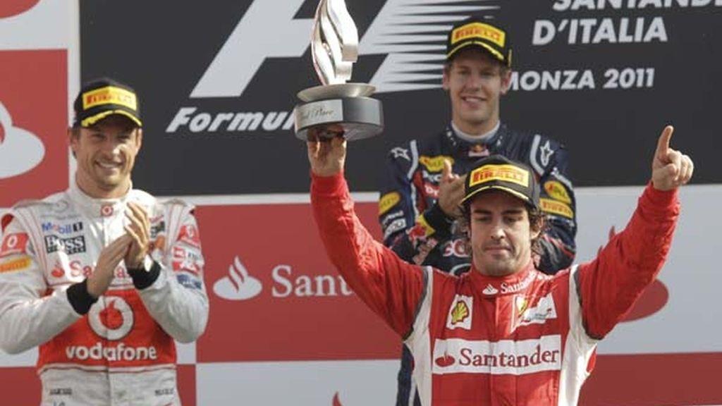 Fernando Alonso segundo