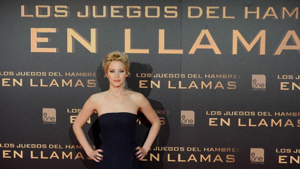 """Premiere en Madrid de """"Los juegos del hambre: En llamas"""""""