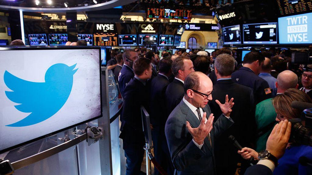 Twitter sale a Bolsa