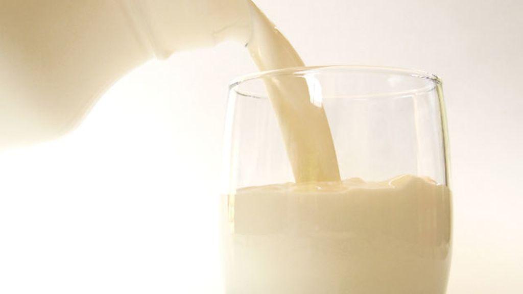Vaso de leche entera