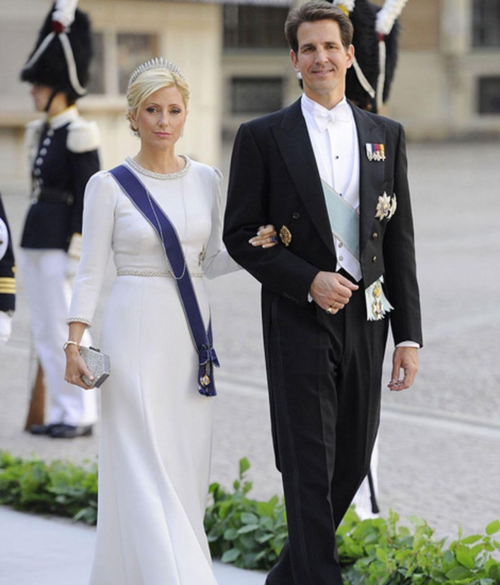 Marie Chantal Miller y su marido Pablo de Grecia