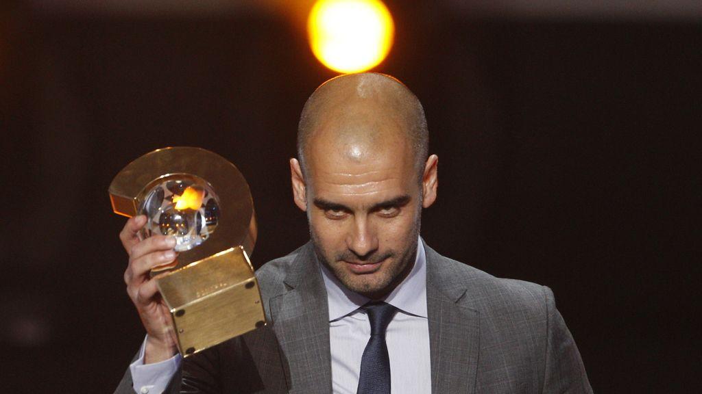 Pep Guardiola, mejor entrenador de 2011