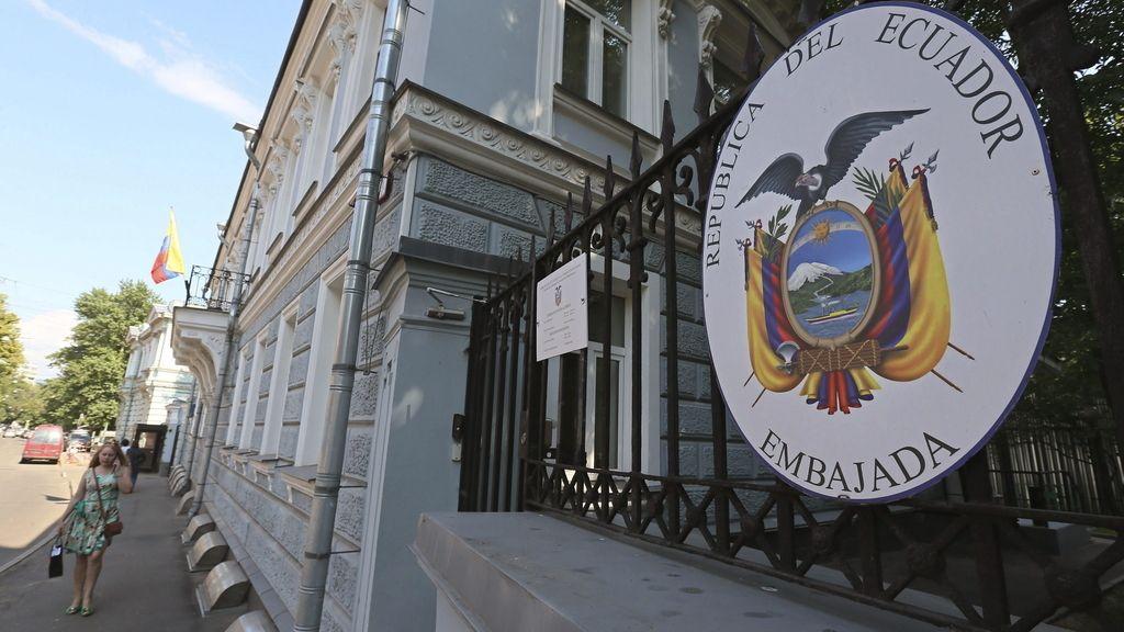 La embajada ecuatoriana en Moscú