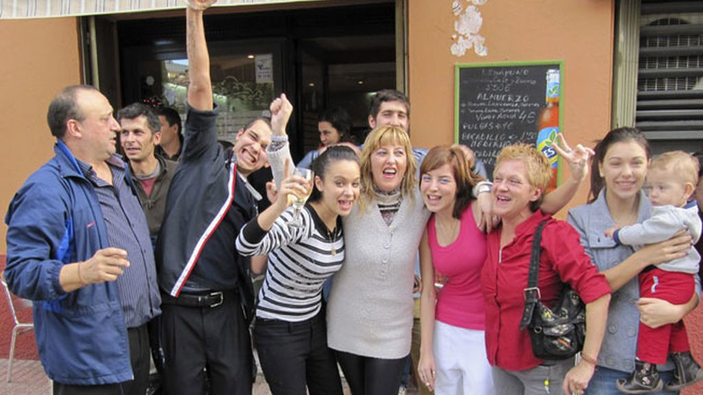 El Gordo cae en Huesca