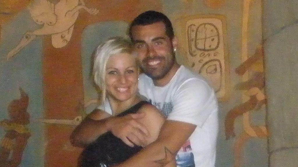 Las fotos más personales de Liria y Ángel