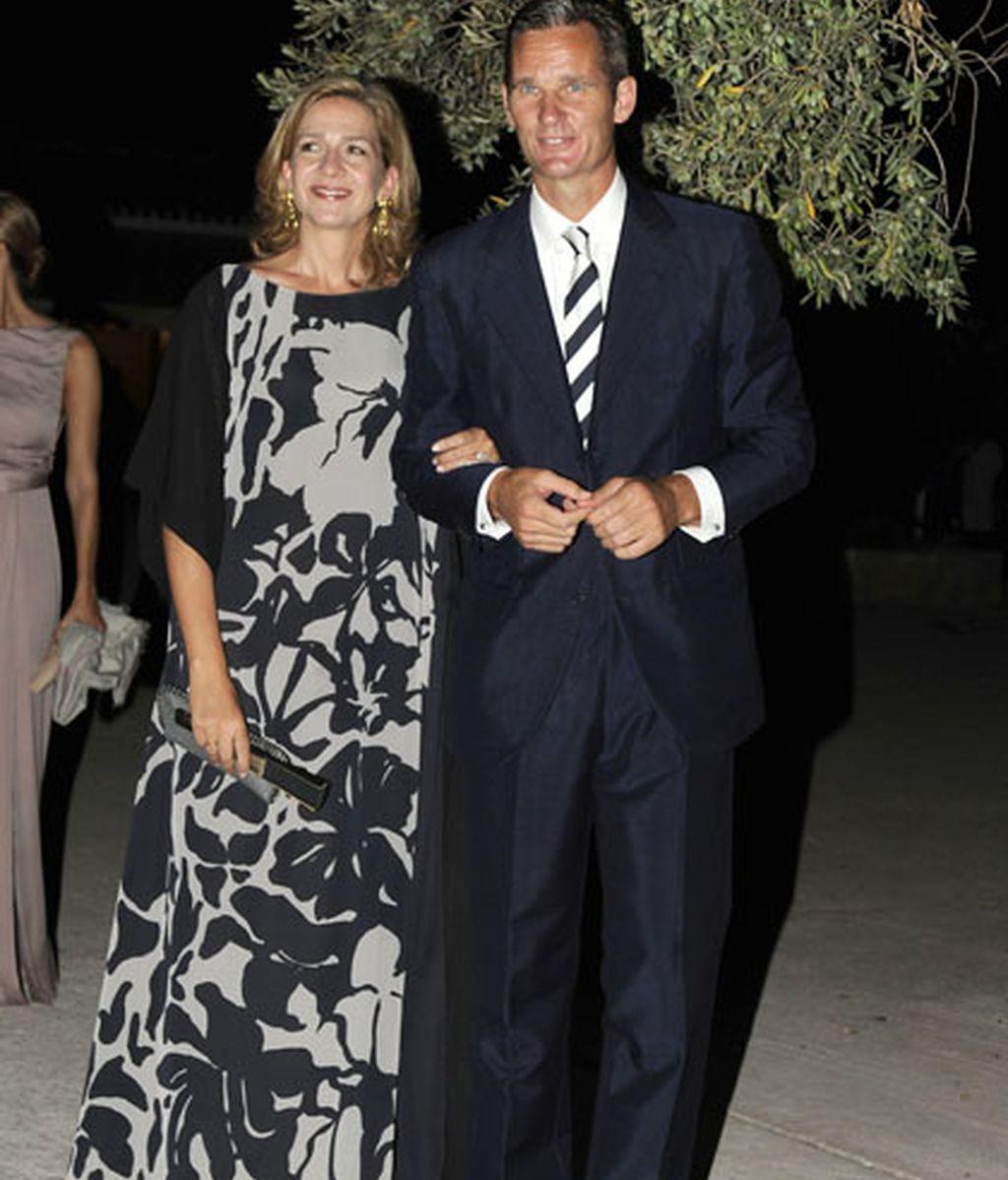 Doña Cristina y Don Iñaki, por la noche